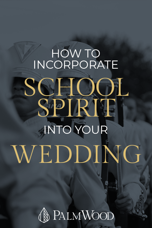 How to Incorporate School Spirit into your Wedding