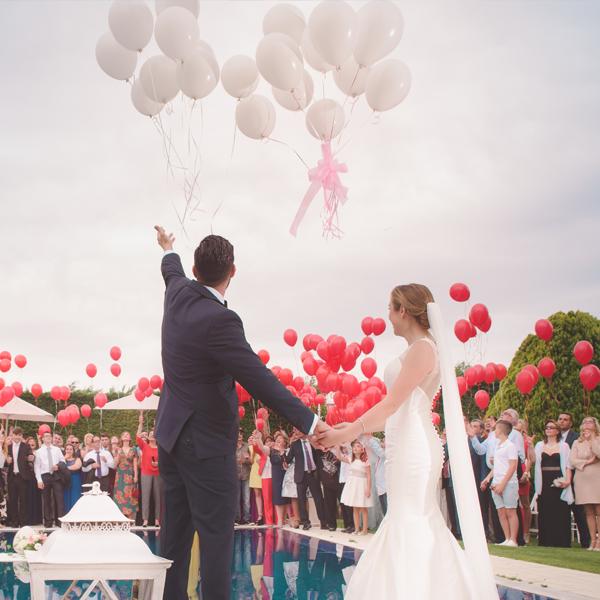 Wedding Trend Balloon Sendoff